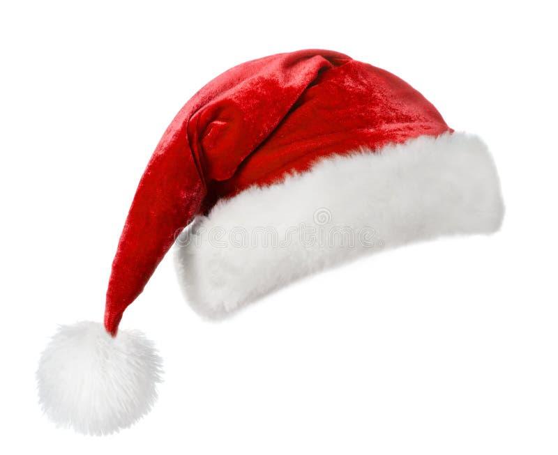 Santa hatt arkivfoto