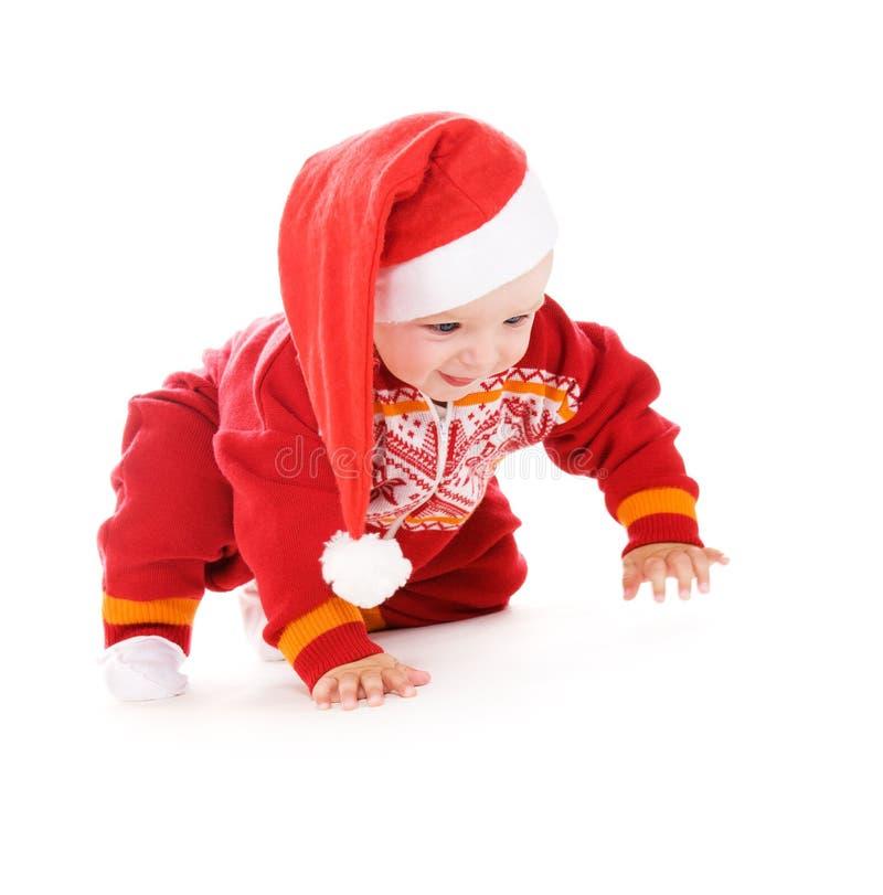 Download Santa helper baby stock image. Image of caucasian, nice - 11321205