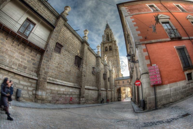 Santa Iglesia Catedral Primada de Toledo Spanien royaltyfria bilder