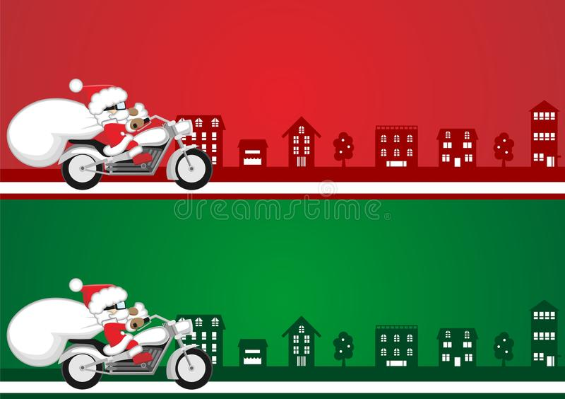 Santa Illustration Royaltyfria Bilder