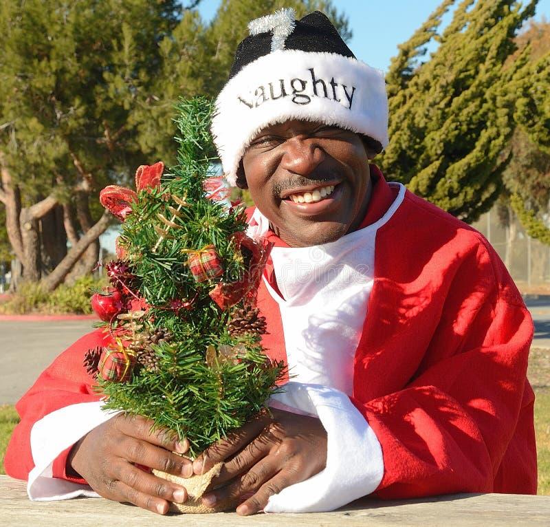 Santa impertinente foto de stock