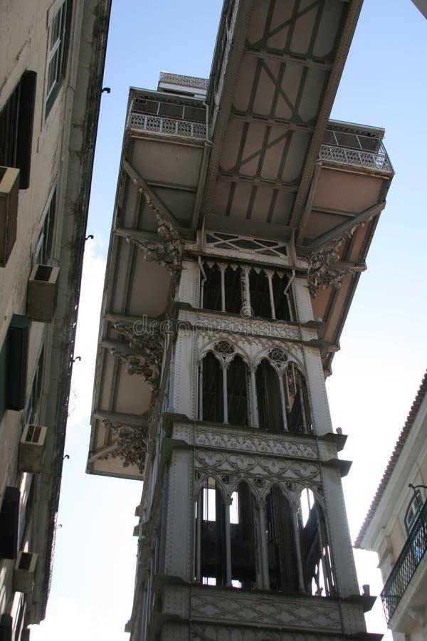 Download Santa Justa elevator stock photo. Image of elevador, famous - 11255080