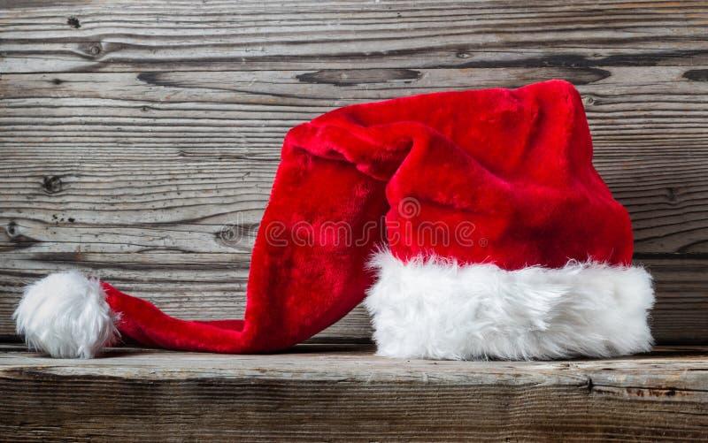 Santa kapelusz zdjęcie royalty free