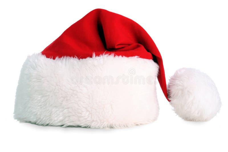 Santa kapelusza obraz stock