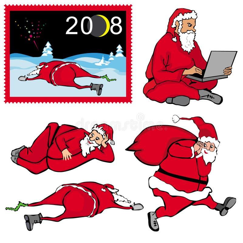 Santa Klaus royalty illustrazione gratis