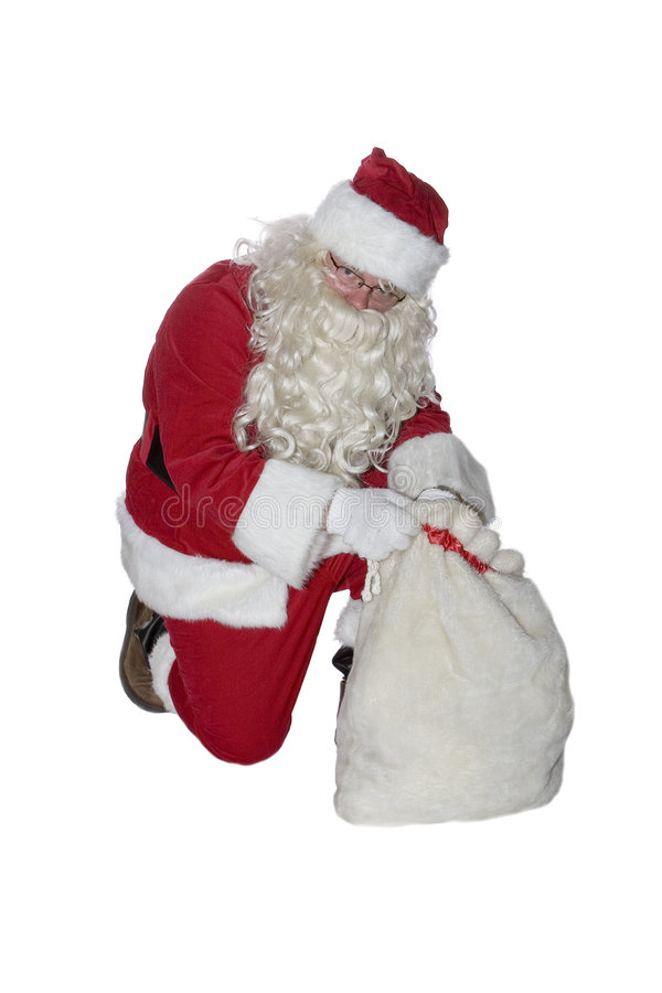 Santa klauzul zdjęcie stock