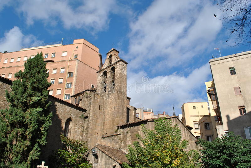 Santa Kościół Anna zdjęcia stock