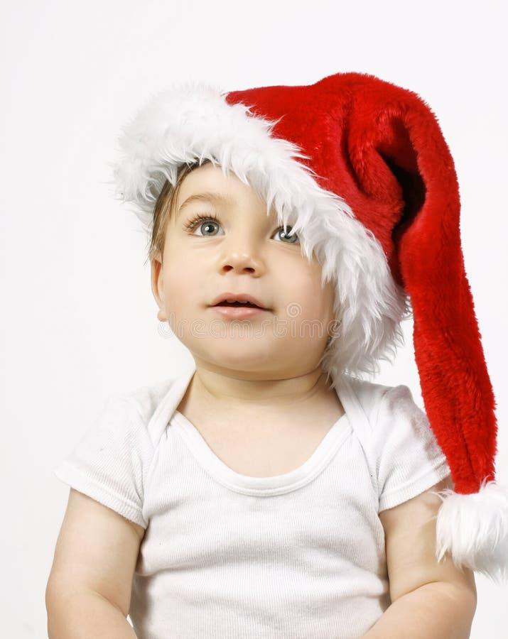 Is santa komst stock foto