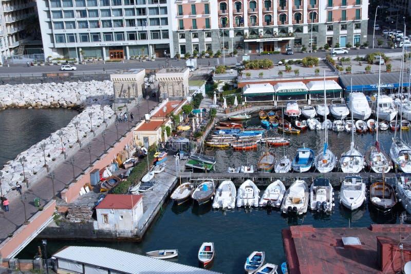 Santa Lucia-haven royalty-vrije stock foto