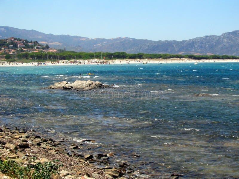 Santa Lucia Seaside! Sardegna stock photography
