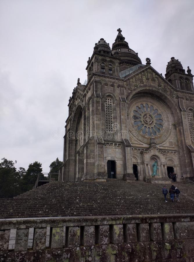 Santa Luzia Church lizenzfreie stockbilder