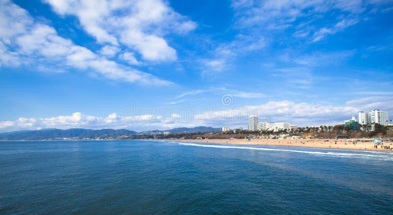 Santa Mónica imagen de archivo libre de regalías