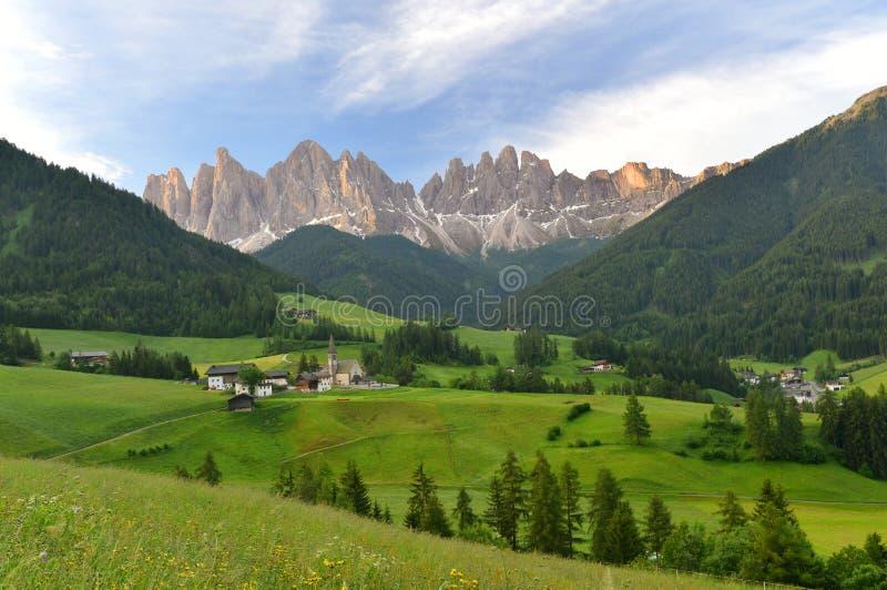 Santa Maddalena, Italien lizenzfreie stockfotografie