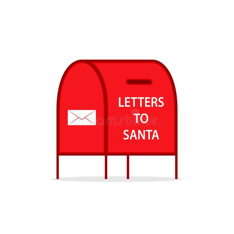 Free Santa Mail Box Icon Stock Photography - 128921992
