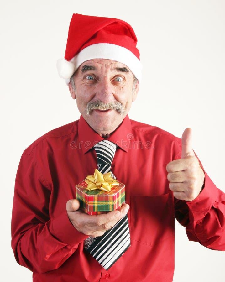 Santa man royalty free stock photography