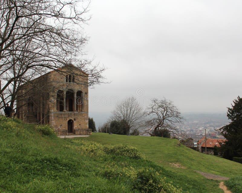 Santa María del Naranco royalty free stock images