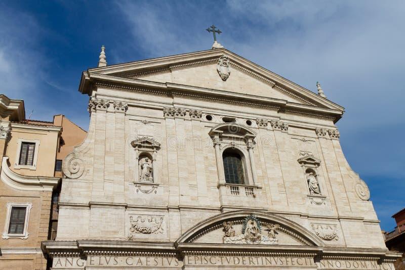 Santa María en la iglesia de Vallicella fotos de archivo libres de regalías