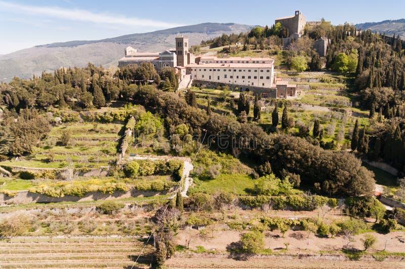 Santa Margherita i Cortona, Tuscany - Italien royaltyfria foton