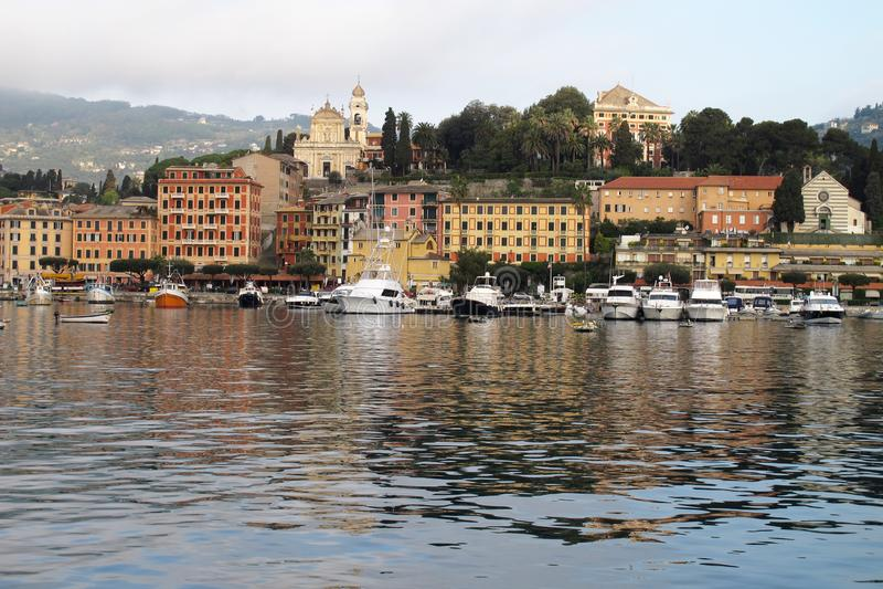 Santa Margherita Ligure, Italia imagen de archivo