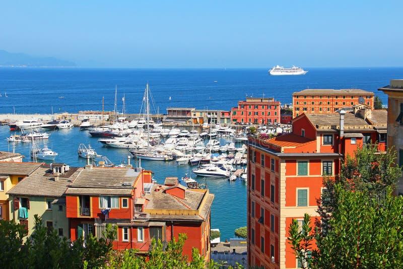 Santa Margherita Ligure, Italia imagenes de archivo