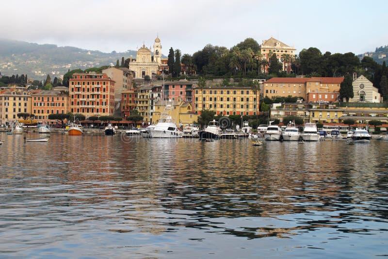 Santa Margherita Ligure, Italy imagem de stock