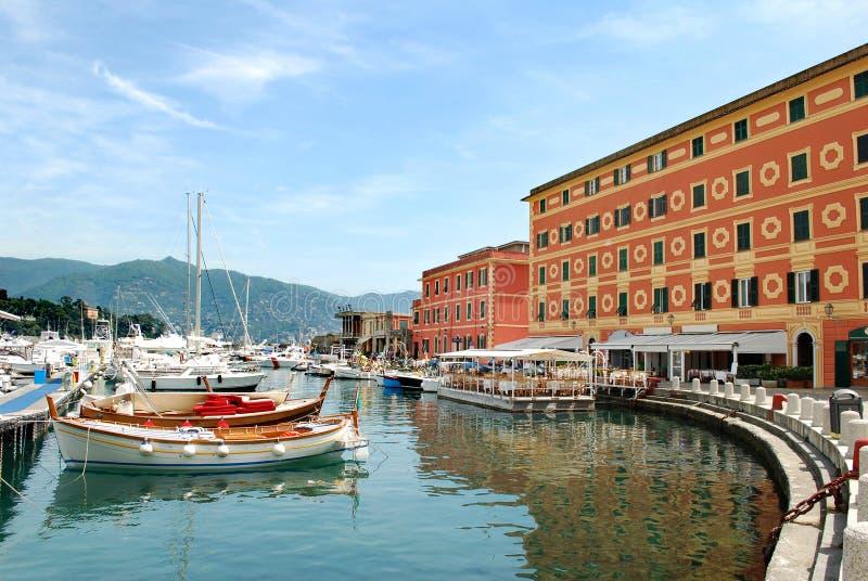 Santa Margherita port arkivfoton