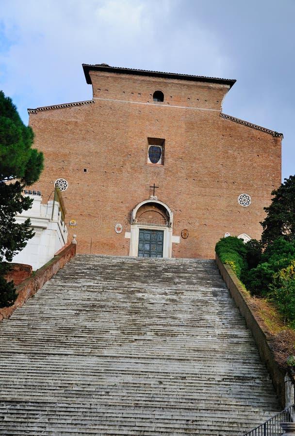 Santa Maria in Aracoeli royalty free stock photos