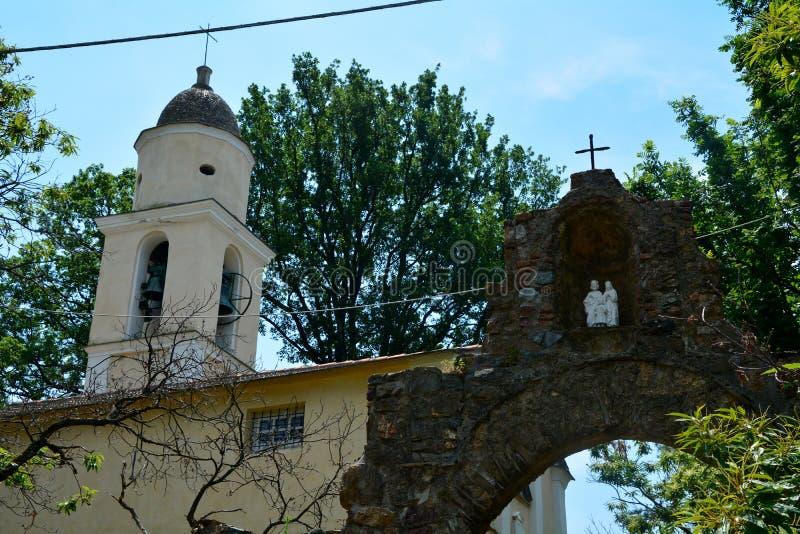 Santa Maria Assunta di Piazza imagens de stock royalty free