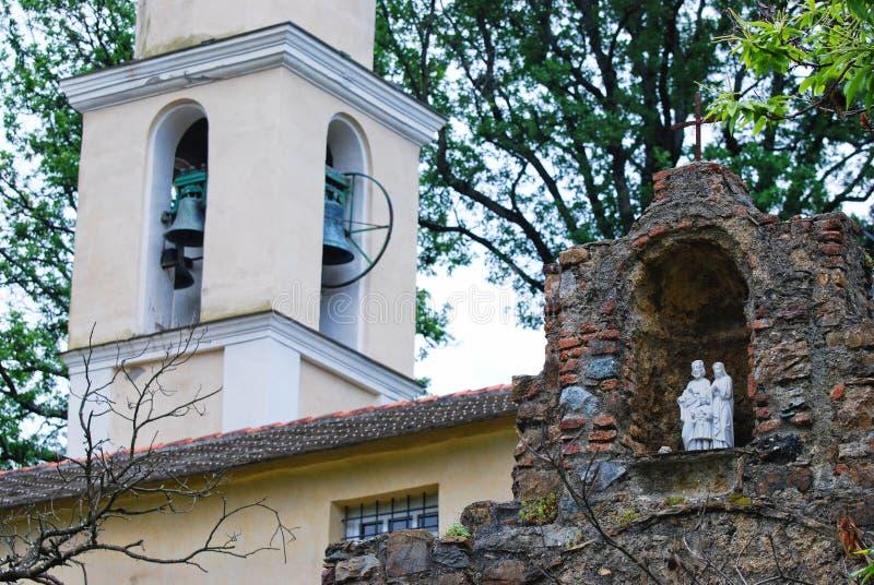 Santa Maria Assunta di Piazza imagens de stock