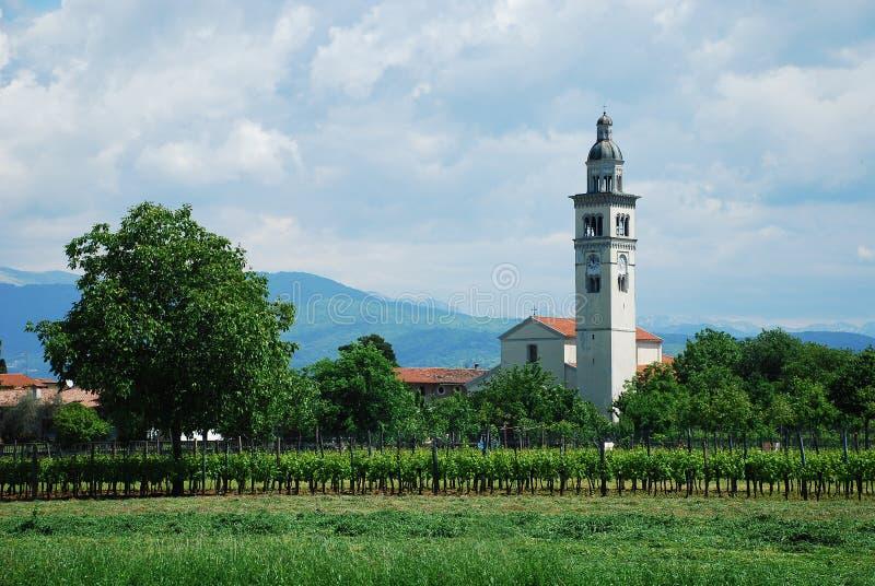 Santa Maria Assunta, Moimacco photo stock