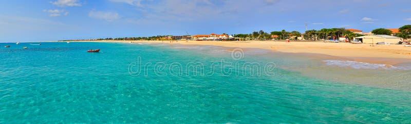 Santa Maria beach stock images