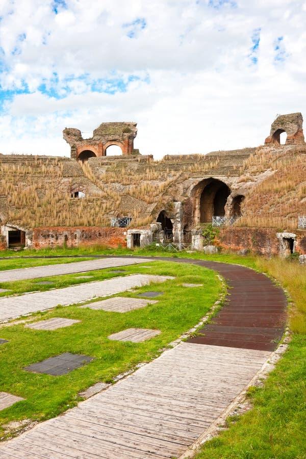 Santa Maria Capua Vetere Amphitheater Royalty Free Stock Photo