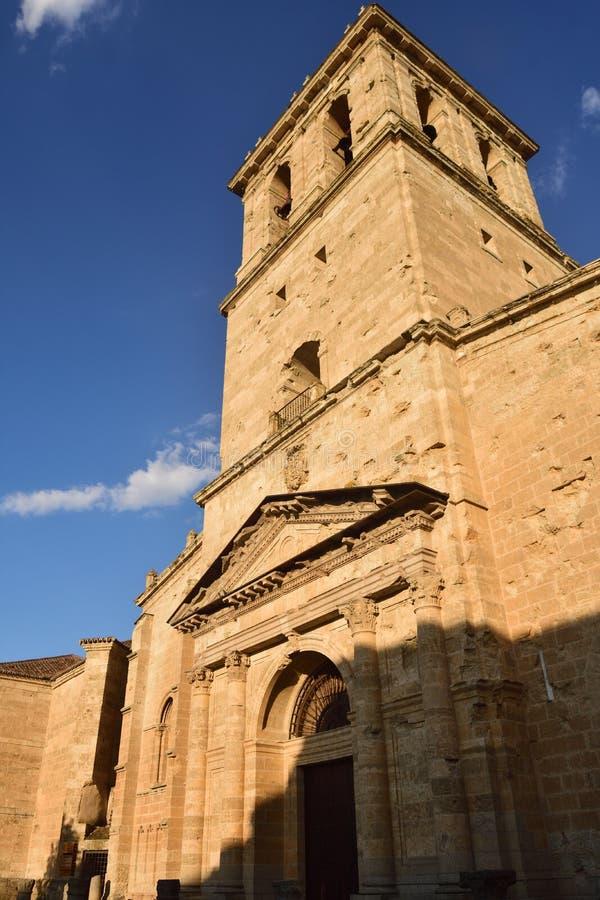 Santa Maria Cathedral, Ciudad Rodrigo, province de Salamanque, Espagne image libre de droits