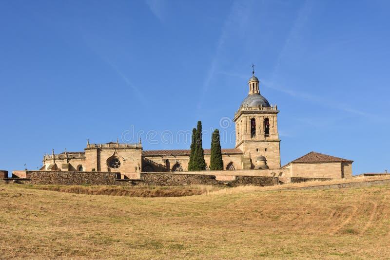 Santa Maria Cathedral, Ciudad Rodrigo, province de Salamanque, Spai photographie stock