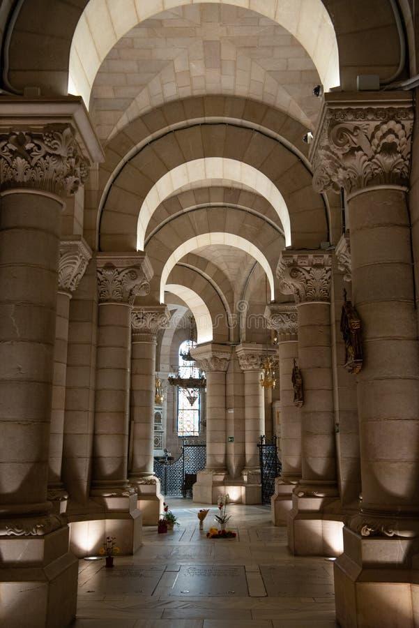 Santa Maria Cathedral Madrid Spain fotografia stock libera da diritti