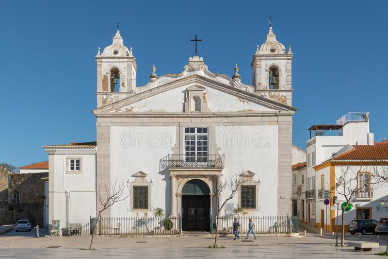Santa Maria church stock image