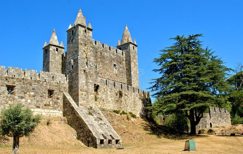 Santa Maria da feira castle. Portugal stock photos