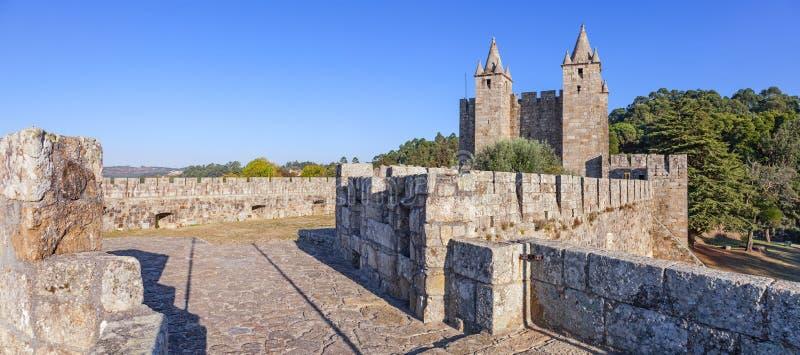 Santa Maria da Feira Castle. royalty free stock images