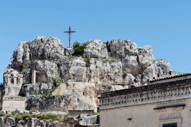 Santa Maria de Idris stock afbeeldingen