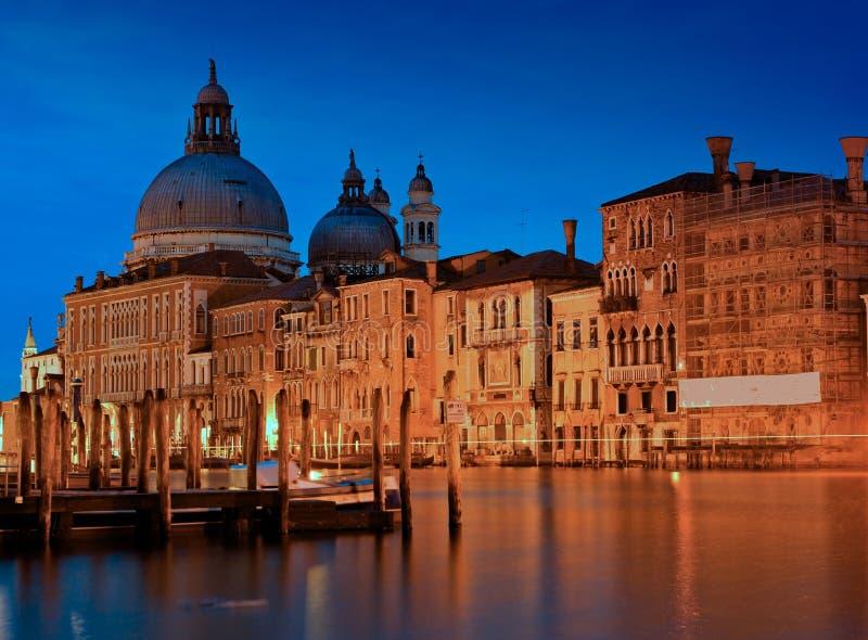 Santa Maria de la Salute in Venice stock image
