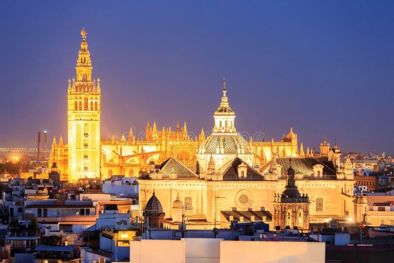 Santa Maria de la Sede Cathedral, Andalusia stock afbeeldingen