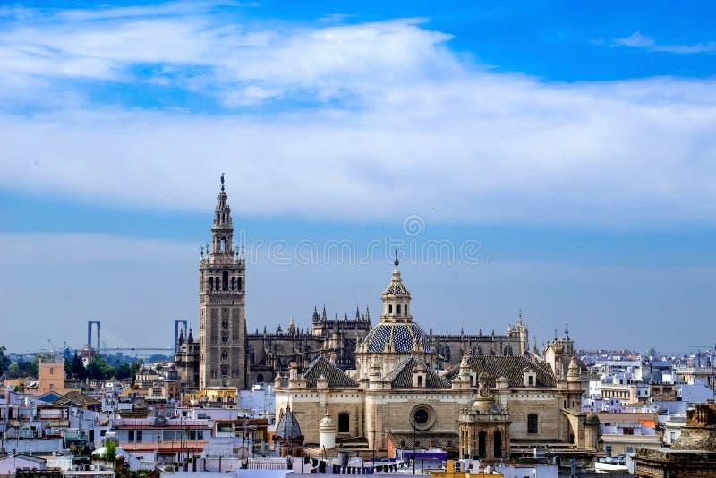 Santa Maria de la Sede Cathedral, Andalusia, Spanje stock afbeeldingen