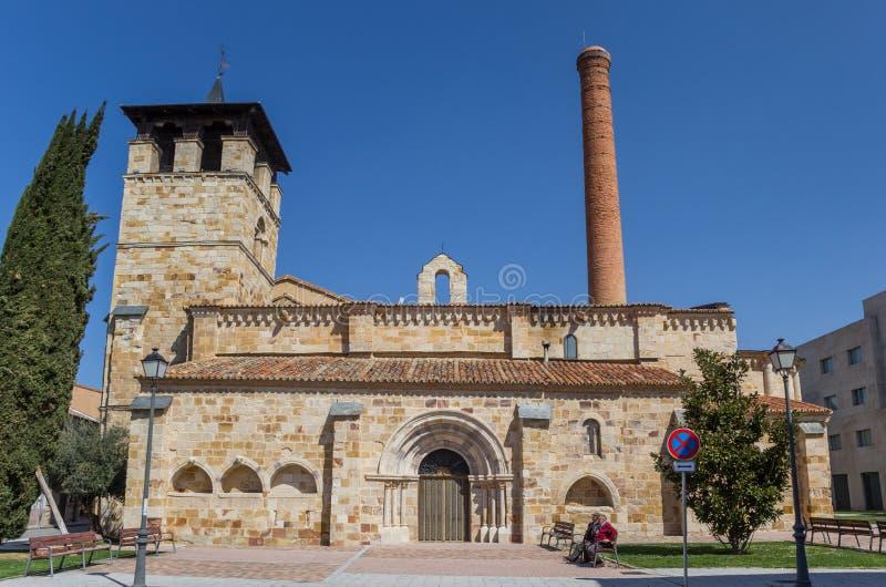 Santa Maria De Los angeles Horta kościół w Zamora obrazy royalty free