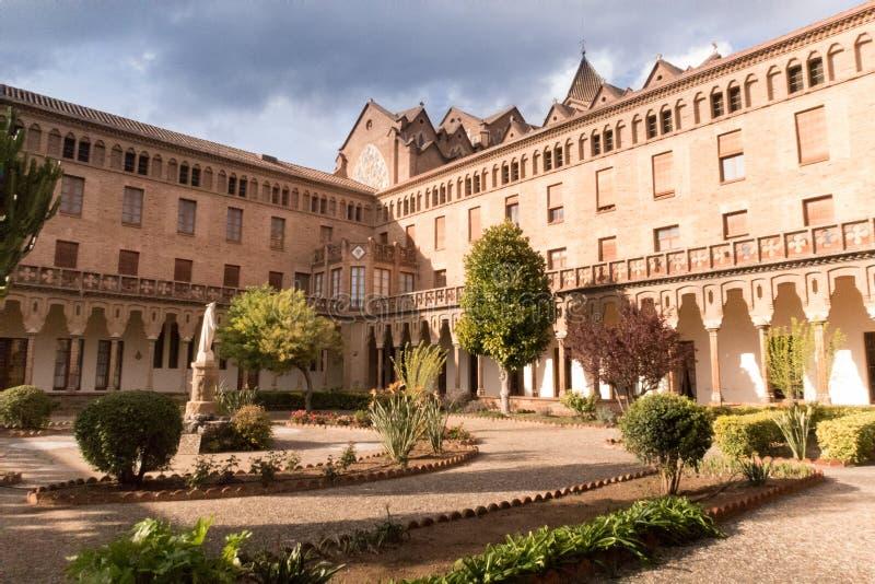 Santa Maria de Valldonzella kloster, kloster royaltyfria bilder