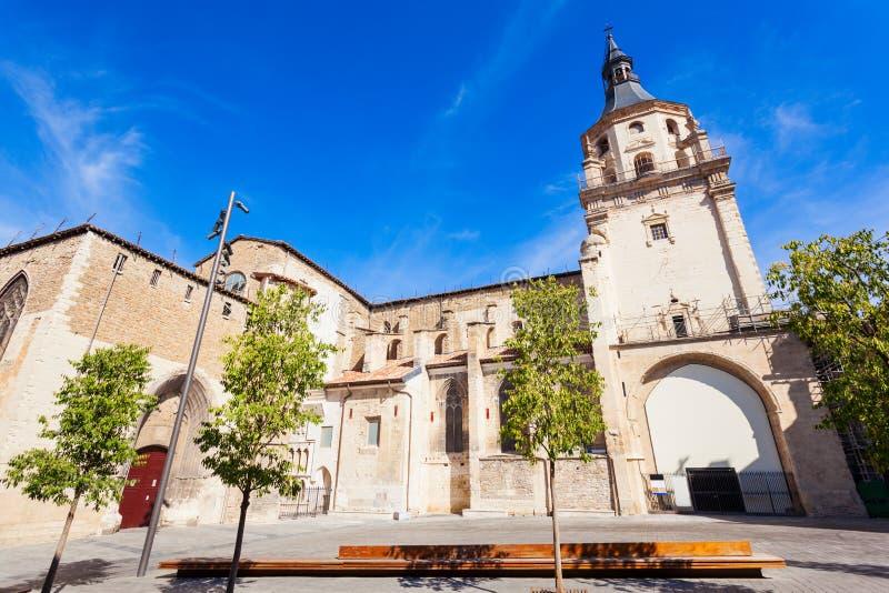 Santa Maria de Vitoria Cathedral royalty-vrije stock afbeeldingen