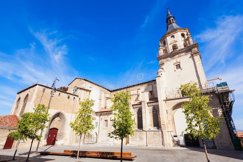 Santa Maria de Vitoria Cathedral fotos de archivo