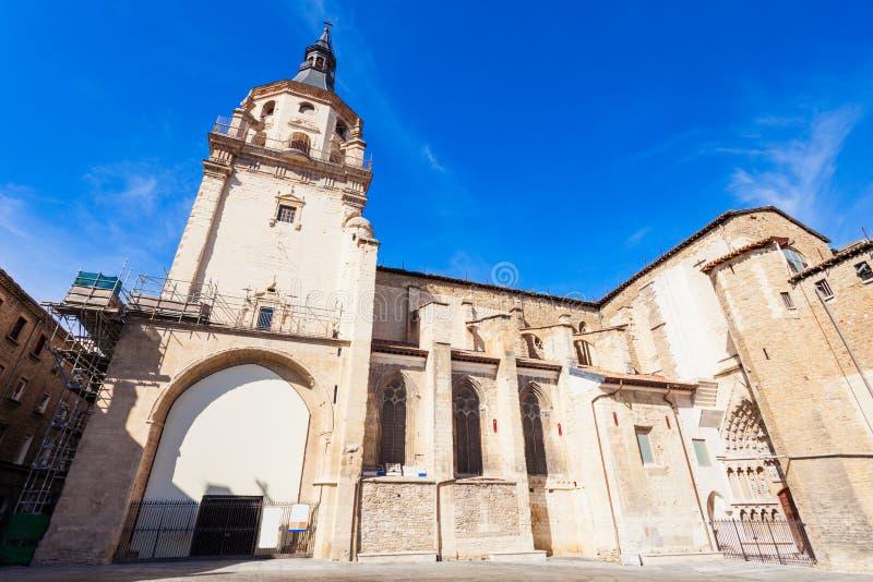 Santa Maria de Vitoria Cathedral fotos de archivo libres de regalías