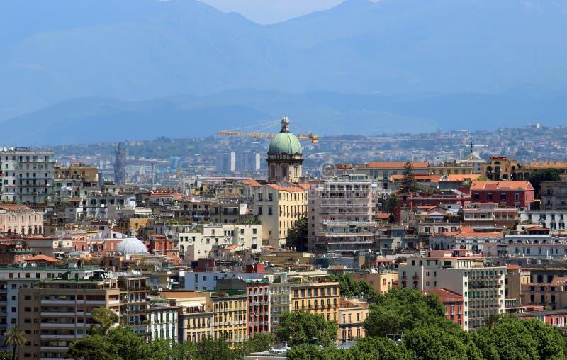 Santa Maria degli Angeli Dome i Naples fotografering för bildbyråer