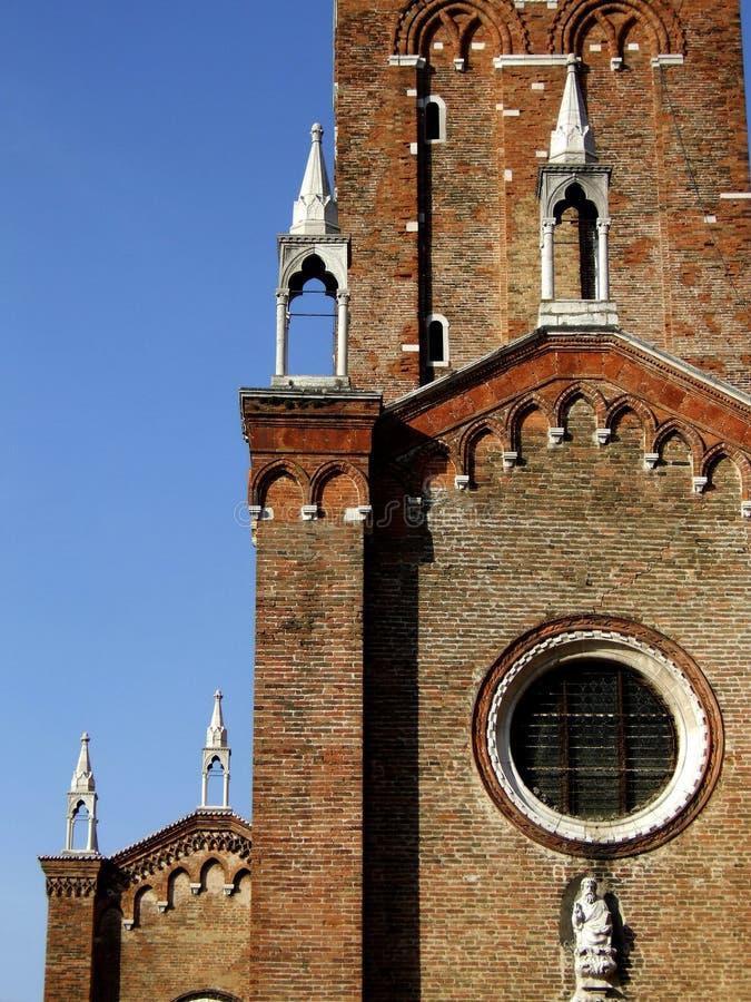 Santa Maria dei Frari stockbild