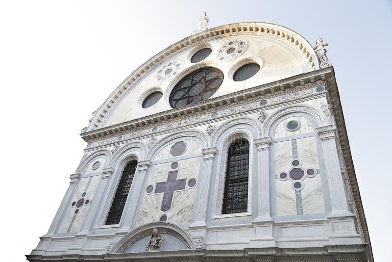 Santa Maria dei Miracoli jest kościół, Wenecja, Włochy obraz stock